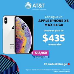 APPLE iPhone XS MAX 64 GB desde un plan