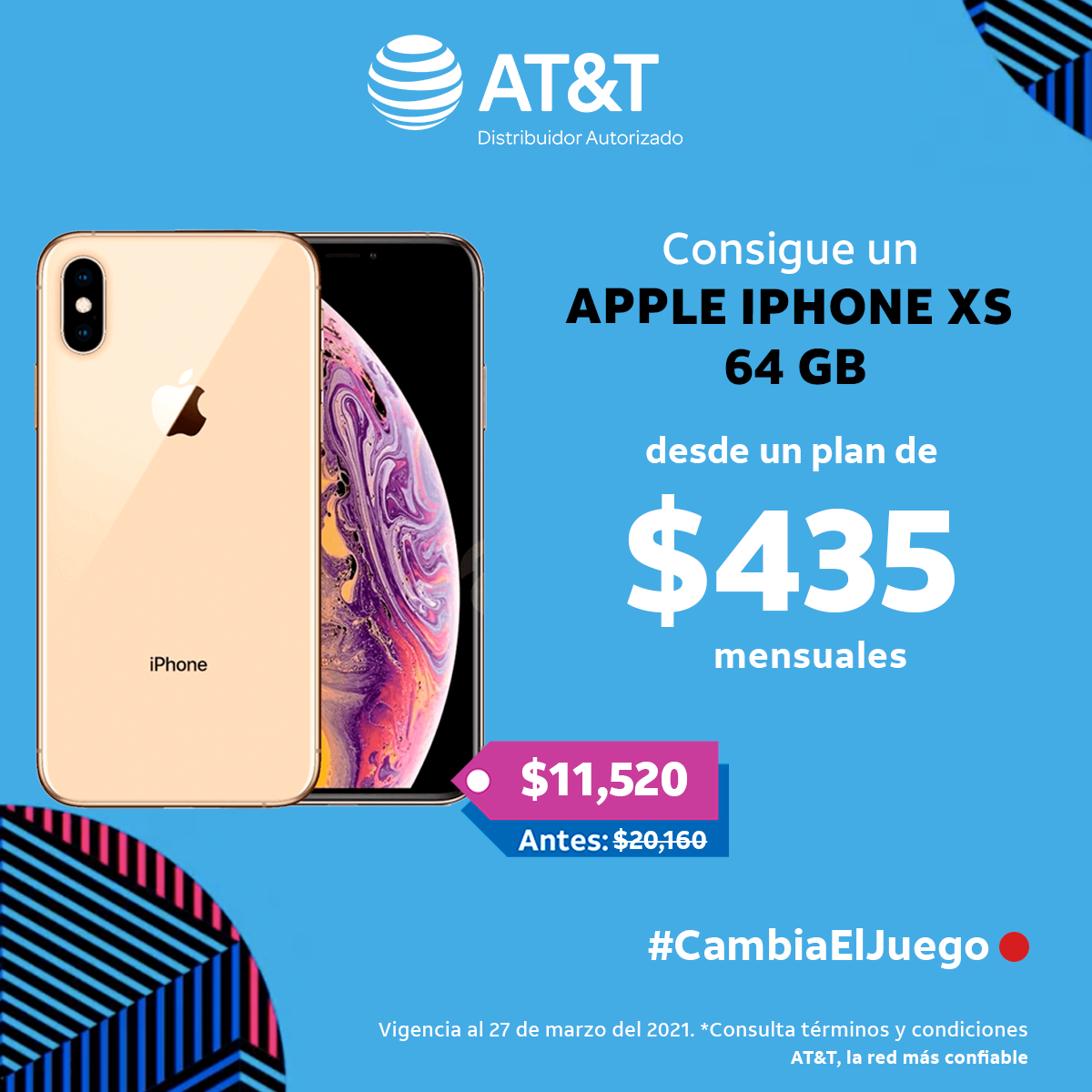 Llévate un APPLE iPhone XS 64 GB desde u