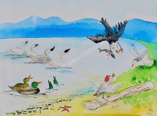 Revelry on the Estuary -Illustration