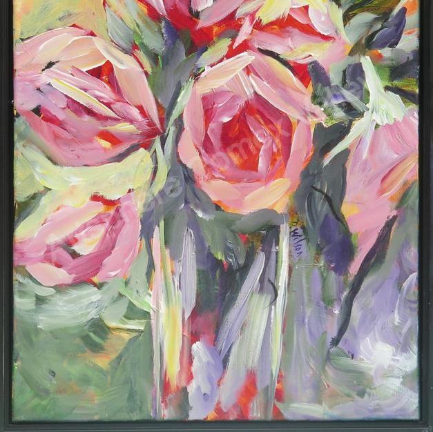 Pink Roses Doris Wilson