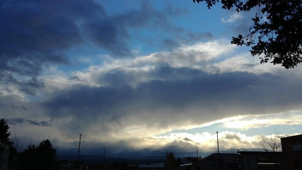 Bonnie Luterbach Clouds blowing over