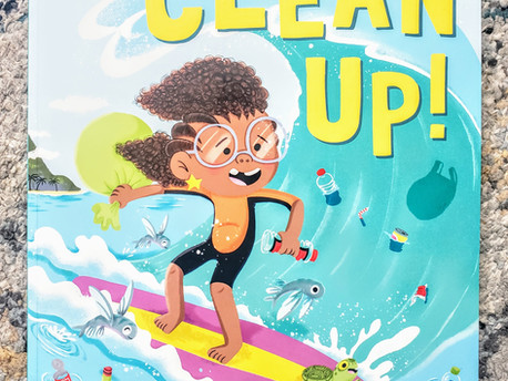 Rocket Says Clean Up! by Nathan Bryon, Illustrated by Dapo Adeola