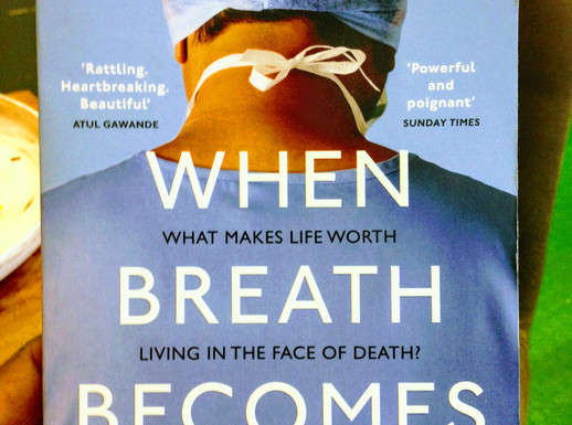 When Breath Becomes Air- Paul Kalanithi