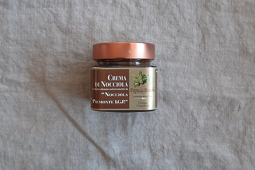 Crema di nocciole e gianduia