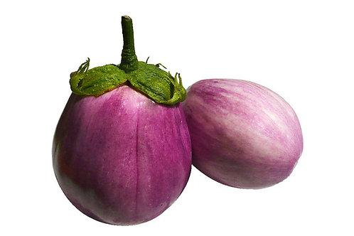 Rosa Bianca Eggplant Vegetable Seeds