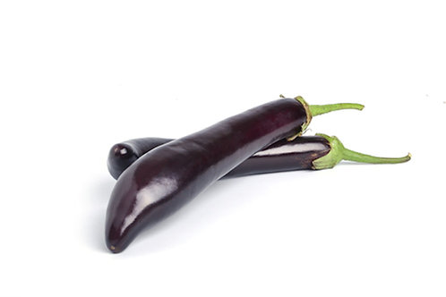 Eggplant Long Purple Seeds Gourmet Flavor