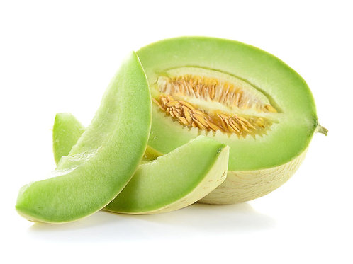 Green Honeydew Cantaloupe Seeds Smooth Skin