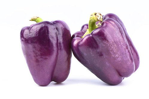 SEEDS = Sweet Lilac Bell Pepper- 20 Vegetable Seeds- -Beautiful Plant