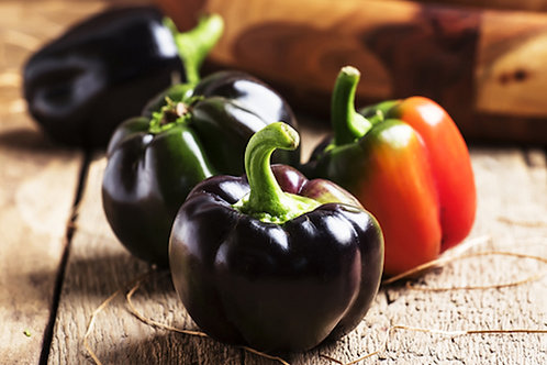 Miniature Chocolate Bell Pepper 10 Seeds