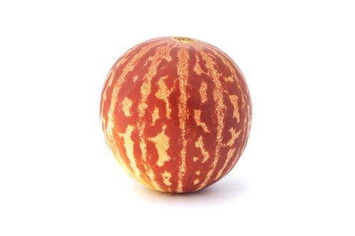 10 Rare Seeds-Tigger Melon- Small - Juicy Sweet -Vegetable Garden Heirloom
