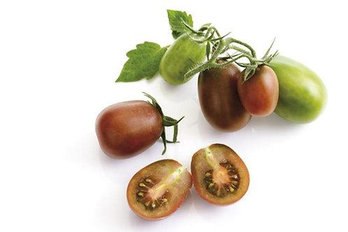 10 Organic Heirloom Seeds Rare Black Plum Tomato