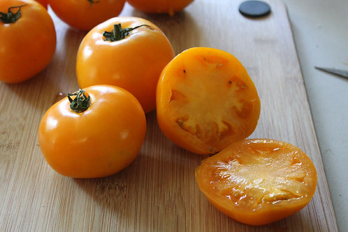 Garden Peach Heirloom Tomato Seeds OP NON GMO