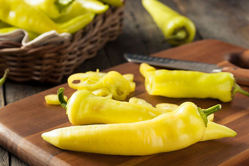Hungarian Wax Pepper Seed Yellow  Hot Chile
