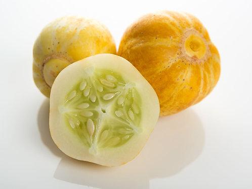 Lemon Cucumber Heirloom seeds