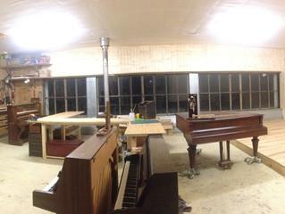 Un nouvel atelier tout beau tout grand!