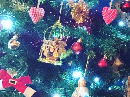 The tree is up, the presents are wrapped...roll on Christmas!