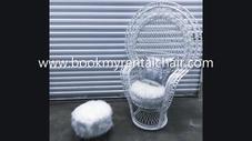 Baby Shower Wicker Chair