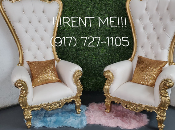 Baby-shower- Gender-Reveal-Throne Chair