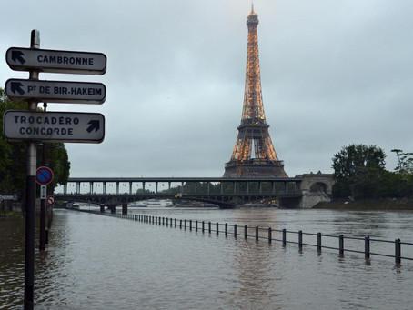 Wateroverlast in Zuid Frankrijk