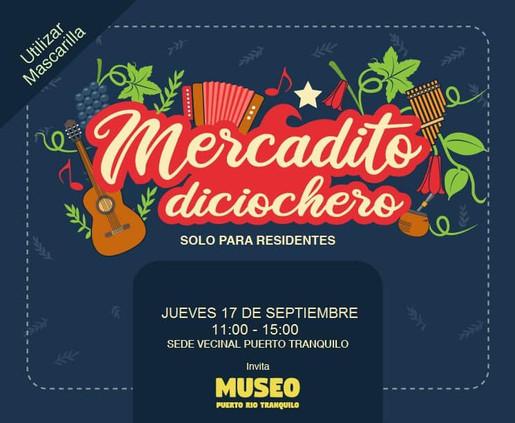 Museo Puerto Río Tranquilo: Mercadito Diciochero