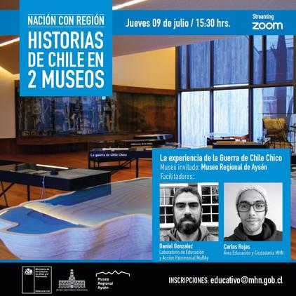 Historias de Chile en 2 Museos