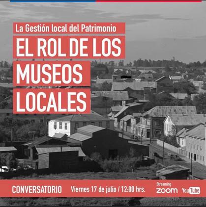 Conversatorio el Rol de los Museos Locales