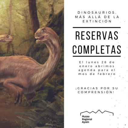 Museo Regional de Aysén: dinosaurios, más allá de la extinción