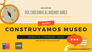 Invitación a participar en consulta ciudadana local del Museo de Puerto Río Tranquilo