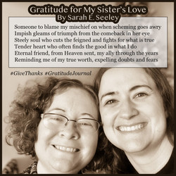 Small_Gratitude for My Sister's Love