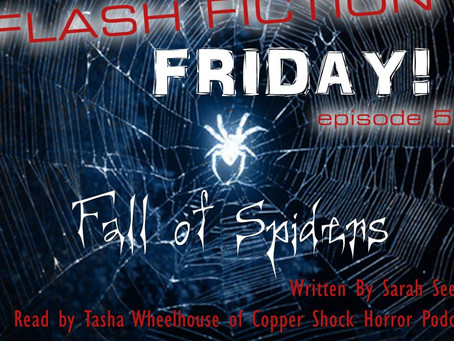 Immortal Works Flash Fiction Friday: Fall of Spiders