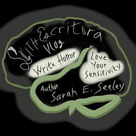 Slithescritora Green Brain Square Plain_