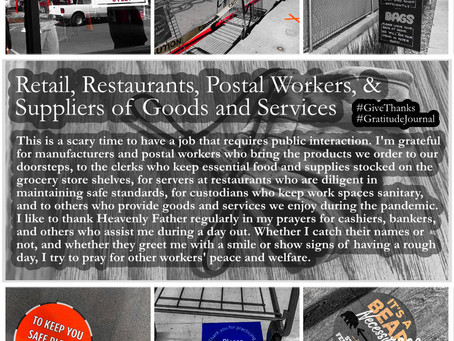 Gratitude for Store Workers