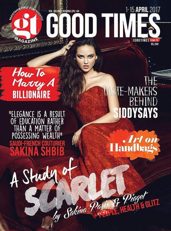 Article about Sakina Paris in Good Times Magazine