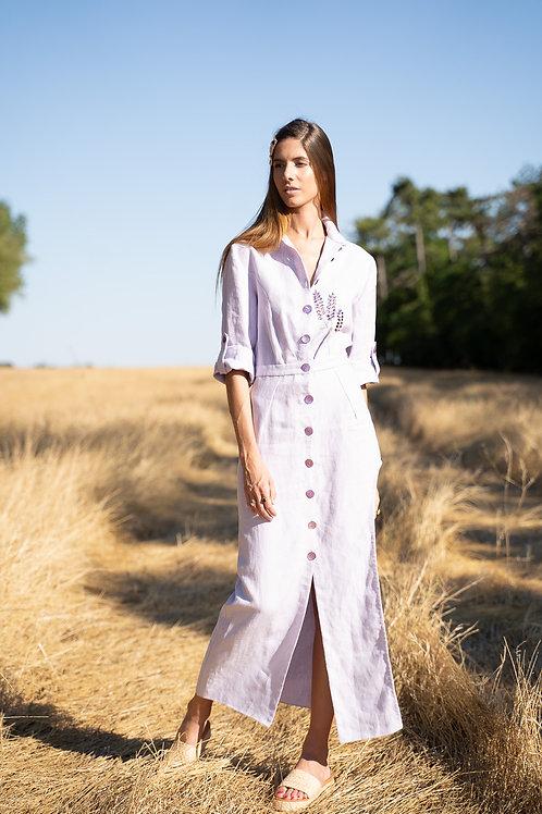 Combinaison jupe lilas