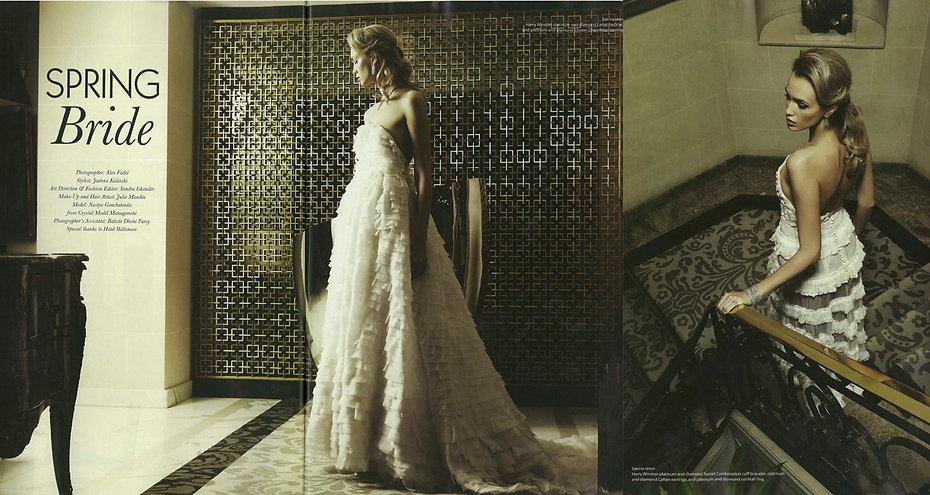 Article about Sakina Paris in Where magazine