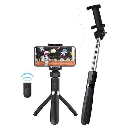 Tripode Selfie Bluetooth Star Tec St-Sf-019