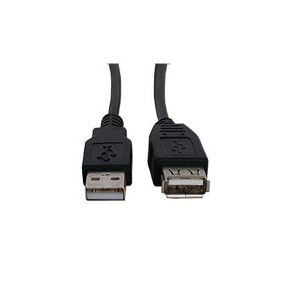 Cable Star Tec 2.0 Extension Usb 1-8Mts (6Ft) Negro Blister