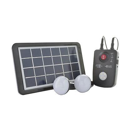 Kit Generico Energia Solar 2 Led Lights