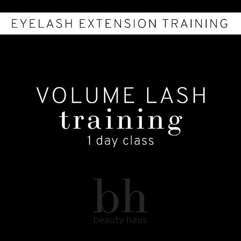 Volume Lash Training