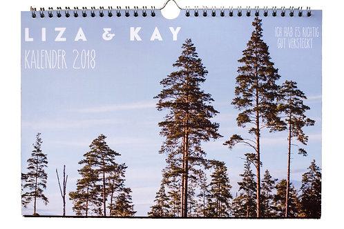 Kalender 2018 (DINA4)