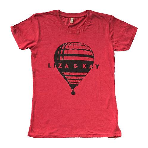 T-Shirt Heißluftballon