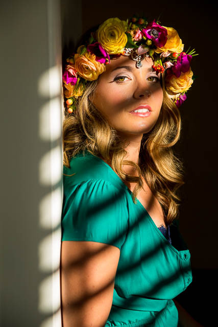 Boudoir photography headshot