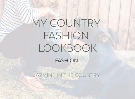 My Country Fashion Lookbook