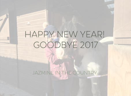 Happy New Year! Goodbye 2017