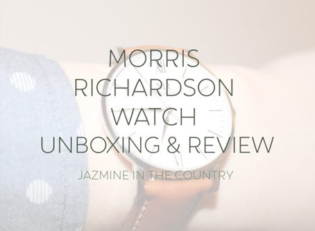Morris Richardson Watches Unboxing & Review
