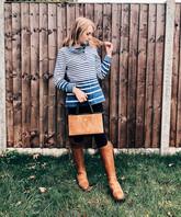 Top - Joules Jeans - Dorothy Perkins Boots - Fairfax & Favor Bag - Fairfax & Favor