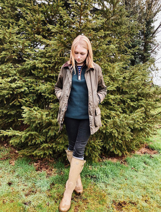 Top - Joules Fleece - Schoffel Jacket - Barbour Socks - Sporting Hares Wellies - Le Chameau
