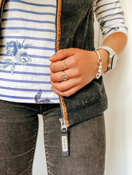 Top - Joules Gilet - Schoffel in Navy Jeans - Dorothy Perkins Jewellery - Hiho Silver
