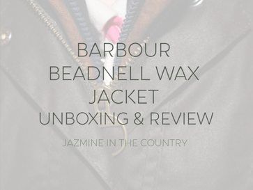 My First Barbour! Unboxing & Review