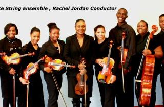 Rachel Jordan Director with Jackson State University String Ensemble